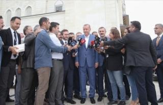 Cumhurbaşkanı Erdoğan: S-400'lerde geri adım...