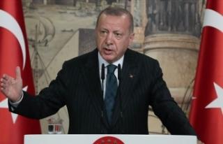 Cumhurbaşkanı Erdoğan: Yavuz gemisi Türkiye'nin...