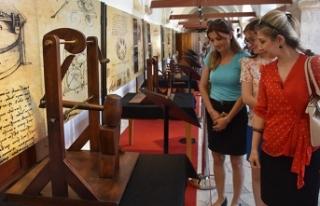 'Da Vinci İcatları' sergisi, Kuşadası'nda...