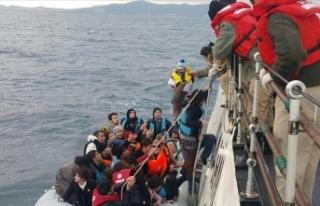 Ege'de bu yıl yakalanan düzensiz göçmen sayısı...