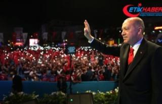 Erdoğan: 82 milyonu Türkiye ortak paydasında buluşturmanın...