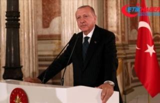 Erdoğan: Cemal Kaşıkçı gibi Mursi'nin de...