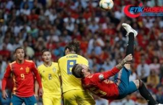 EURO 2020 Elemeleri'nin 4. haftası 12 maçla...