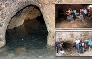 Evleri su basınca ortaya çıktı! Sadece bir tünel...