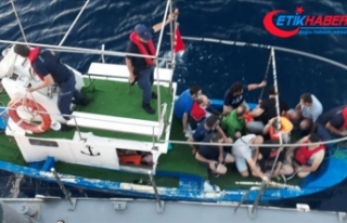 FETÖ şüphelileri tekneyle Yunanistan'a kaçarken...
