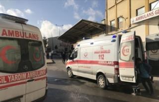 Gaziantep'te kavgaya müdahale ederken yaralanan...
