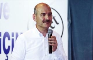 İçişleri Bakanı Soylu: Türkiye'yi huzur...