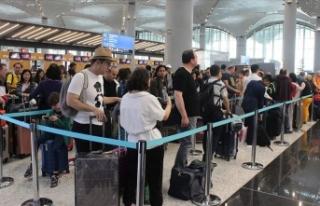 İstanbul Havalimanı bayramda 1 milyon 776 bin 965...