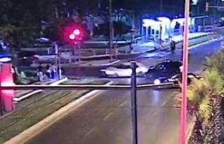 Kırmızı ışık ihlali yapan otomobil sürücüsü,...