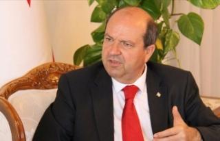 KKTC Başbakanı Tatar'dan 'kararlılık'...