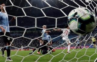 Kupa Amerika'da Uruguay ve Japonya berabere kaldı