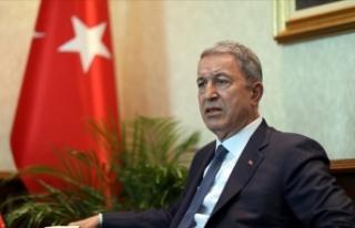 Milli Savunma Bakanı Akar: Hainler layık oldukları...