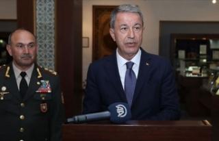 Milli Savunma Bakanı Akar: Türkiye Azerbaycanlı...