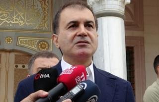Ömer Çelik: Terörle mücadele devam ediyor