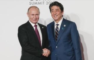 """Rusya ile Japonya """"barış anlaşması""""..."""