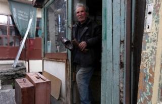 Samanpazarı'nın son ayakkabı tamircisi