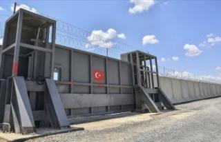 Sınırdaki güvenlik duvarının yüzde 75'i...