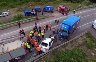 Sinop'ta kaza: 2 üniversiteli öldü, 1 kişi...