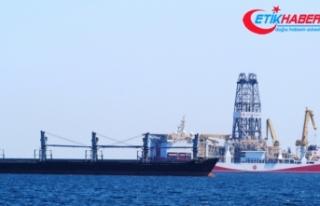 Sondaj gemisi 'Yavuz' Antalya açıklarında
