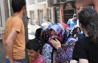 Zeytinburnu'nda Suriyeli çocukların kaldığı...