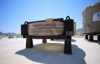 Akkuyu NGS'nin ilk büyük boyutlu ekipmanı...