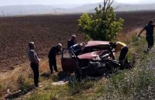 Amasya'da iki otomobil çarpıştı: 4 yaralı