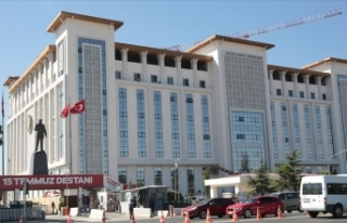 Ankara Emniyet Müdürlüğü binasının yapımı...