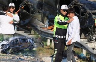 Bolu'da, TEM'de meydana gelen kazada ölü...