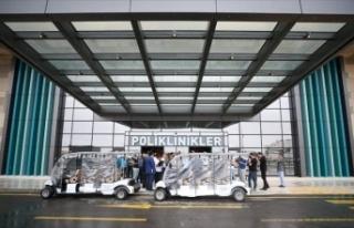 Bursa Şehir Hastanesi kapılarını habercilere açtı