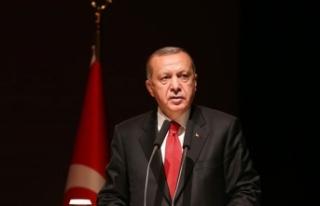 Cumhurbaşkanı Erdoğan: 15 Temmuz tam bir milli...