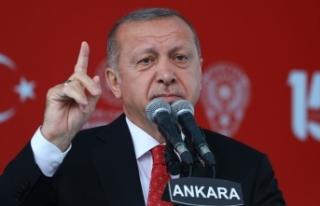 Cumhurbaşkanı Erdoğan: Hep birlikte 'tek millet,...