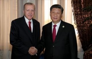 Cumhurbaşkanı Erdoğan: Türkiye ve Çin aynı vizyonu...