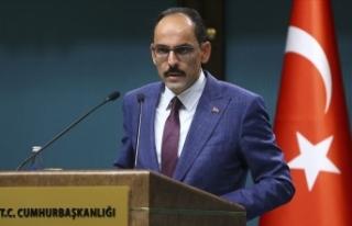 Cumhurbaşkanlığı Sözcüsü Kalın'dan Suriye...