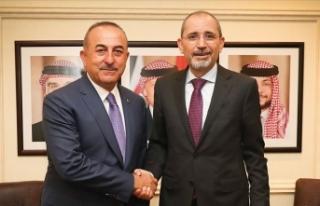 Dışişleri Bakanı Çavuşoğlu Ürdünlü mevkidaşı...