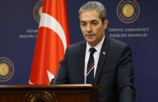 Dışişleri Bakanlığı Sözcüsü Aksoy: ABD tarafını...