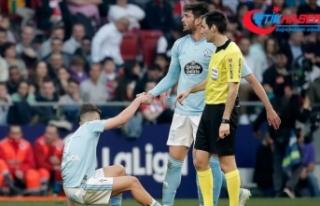 Emre Mor ve Okay Yokuşlu Celta Vigo ile antrenmanlara...