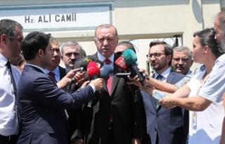 Erdoğan: Reyhanlı'daki patlamanın terörle...