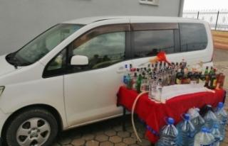 Fatsa'da kaçak içki üretimine baskın: 2 yabancıya...