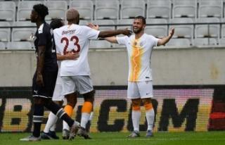 Galatasaray hazırlık maçında Bordeaux'yu...
