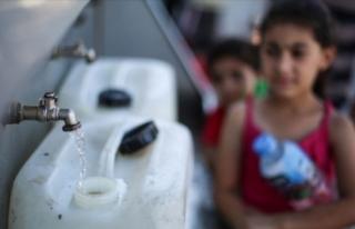 Gazze'de su krizi tehlikeli boyutlara ulaştı