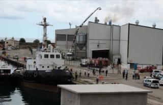 Giresun Limanı'ndaki depoda patlama: 1 yaralı