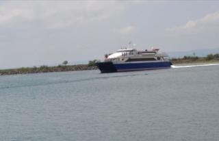 İDO'nun Tekirdağ-Marmara Adası-Avşa deniz...