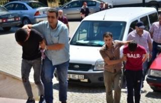 İskilip'te polis aracına silahlı saldırı
