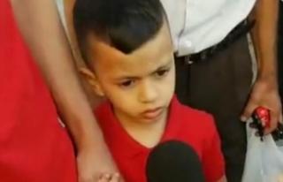 İsrail ordusu 4 yaşındaki Filistinli çocuğu sorguya...
