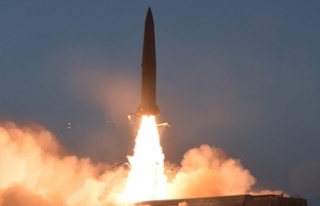 Kuzey Kore yeni roket fırlatma sistemi denediğini...