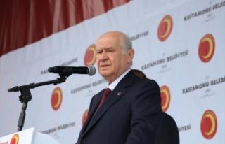 MHP Lideri Bahçeli: Eski sisteme dönelim diyenlerin...