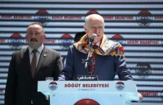 MHP Lideri Bahçeli: Milletin evet dediği sistemi...