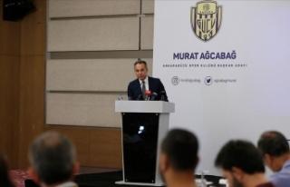 MKE Ankaragücü'nde Murat Ağcabağ başkanlığa...