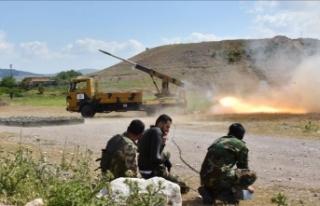 Rejim İdlib'e saldırılarında ağır kayıplar...