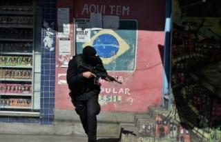 Rio de Janeiro'daki polis operasyonlarıyla her...